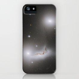 Colliding Galaxies iPhone Case