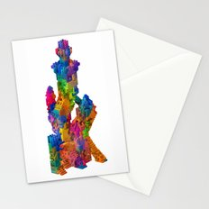 Block Tower Stationery Cards