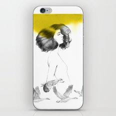 Cècile iPhone & iPod Skin