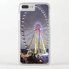 Wheel Concorde Paris Clear iPhone Case