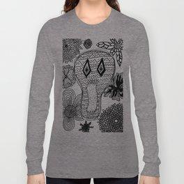Skeleton Flowers  Long Sleeve T-shirt