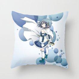 Sayaka Miki Throw Pillow