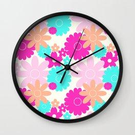 Summer Garden Lollie Wall Clock