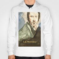 les mis Hoodies featuring Les Mis by Paxelart