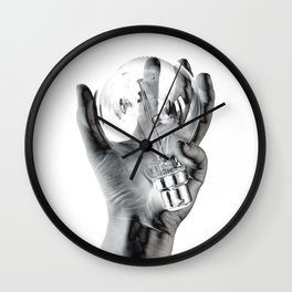 Negative Ideas Wall Clock
