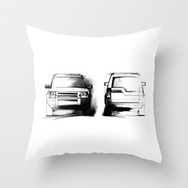 Discovery 3 - LR3 Throw Pillow