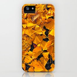Grate Full of Ginkgo iPhone Case