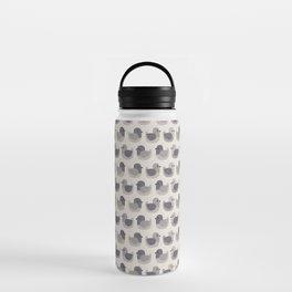 Cute Simple Pigeons Water Bottle