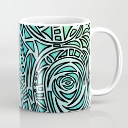How The River Flows - Faded Coffee Mug
