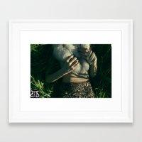 "furry Framed Art Prints featuring ""FURRY"" by Sri (MFKN) Sherrell"