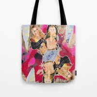 britney Tote Bags featuring Britney by GREATeclectic