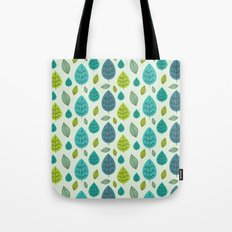 Trees pattern Tote Bag