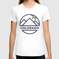 colorado T-shirts featuring Colorado by BMaw