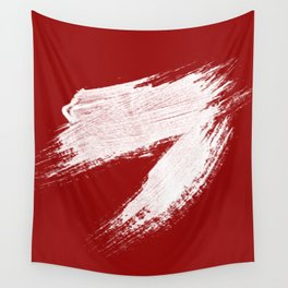 ANGER - red palette Wall Tapestry