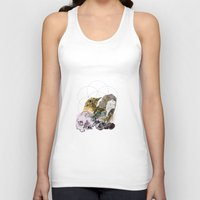 sacred geometry Tank Tops featuring Sacred by Ashley Payne