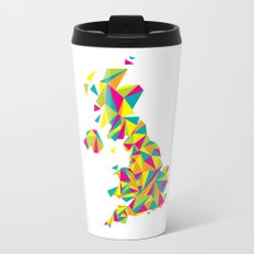 Abstract United Kingdom Bright Earth Travel Mug