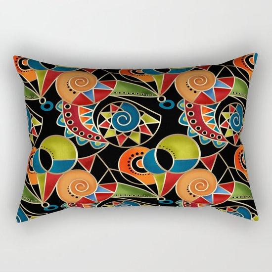 Abstraction - Carnival Rectangular Pillow