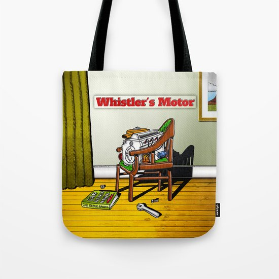 Whistler's Motor Tote Bag