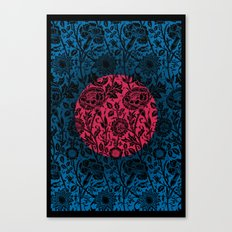 Flower Moon Canvas Print