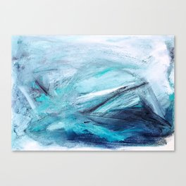 Iceland Blues Canvas Print