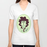 edward scissorhands V-neck T-shirts featuring Edward Scissorhands by Bauimation