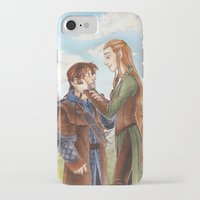 kili iPhone & iPod Cases featuring Kili and Tauriel by CaptBexx