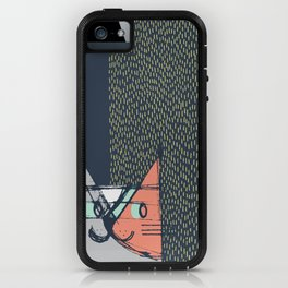 Cubist Cat Study #1 by Friztin iPhone Case
