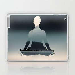 Nature Meditation Photography Print Laptop & iPad Skin