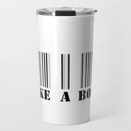 like a boss barcode Travel Mug