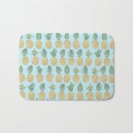 The Pineapple Show Bath Mat