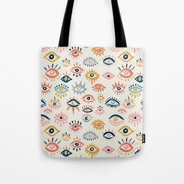 Mystic Eyes – Primary Palette Tote Bag