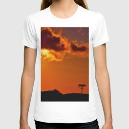 Costa Rica sunset T-shirt