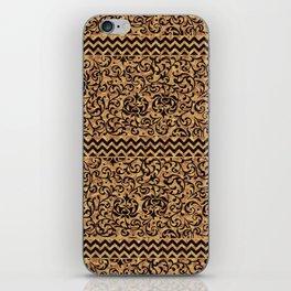 Golden Renaissance Damask iPhone Skin