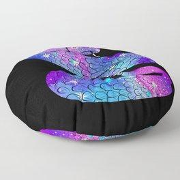 Cosmic Snake Floor Pillow