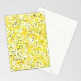 Speckles Lemon Stationery Cards