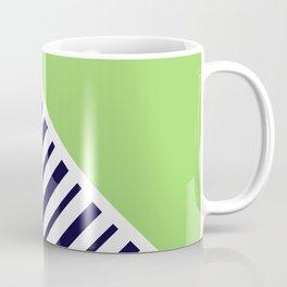 Lime & Stripes Coffee Mug