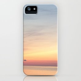 Sunset Lake iPhone Case