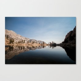 Glossy Waters Canvas Print