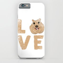 Love Quokka iPhone Case