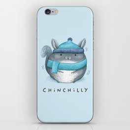 Chinchilly iPhone Skin