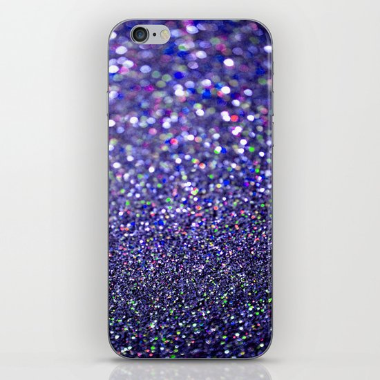 Partytime in Purple iPhone & iPod Skin
