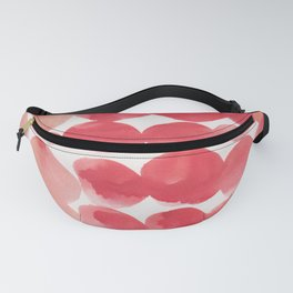 16    | 190408 Red Abstract Watercolour Fanny Pack