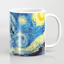 The Doctors Walking Of Starry Night Coffee Mug