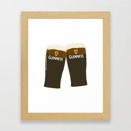 Guinness Beers Framed Art Print
