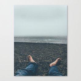 Stone Beach Canvas Print