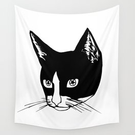 Hex in His Eyes Wall Tapestry