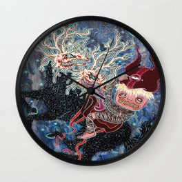 Children of Pan Wall Clock