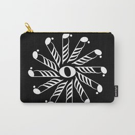 Music note mandala 3 - inverted Carry-All Pouch