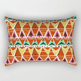 TGIF Triangles Rectangular Pillow