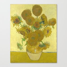 Sunflowers (Vincent Van Gogh series) Canvas Print